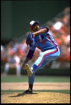 """Former Red Sox star Dennis """"Oil Can"""" Boyd (shown here with the Montreal Expos) will join former Yankees star Jesse Barfield in the Heroes for Heroes Legend Game in Bridgeport on July 9."""
