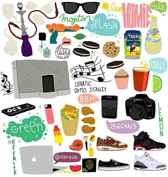 liste illustrée (by Sanaa K)