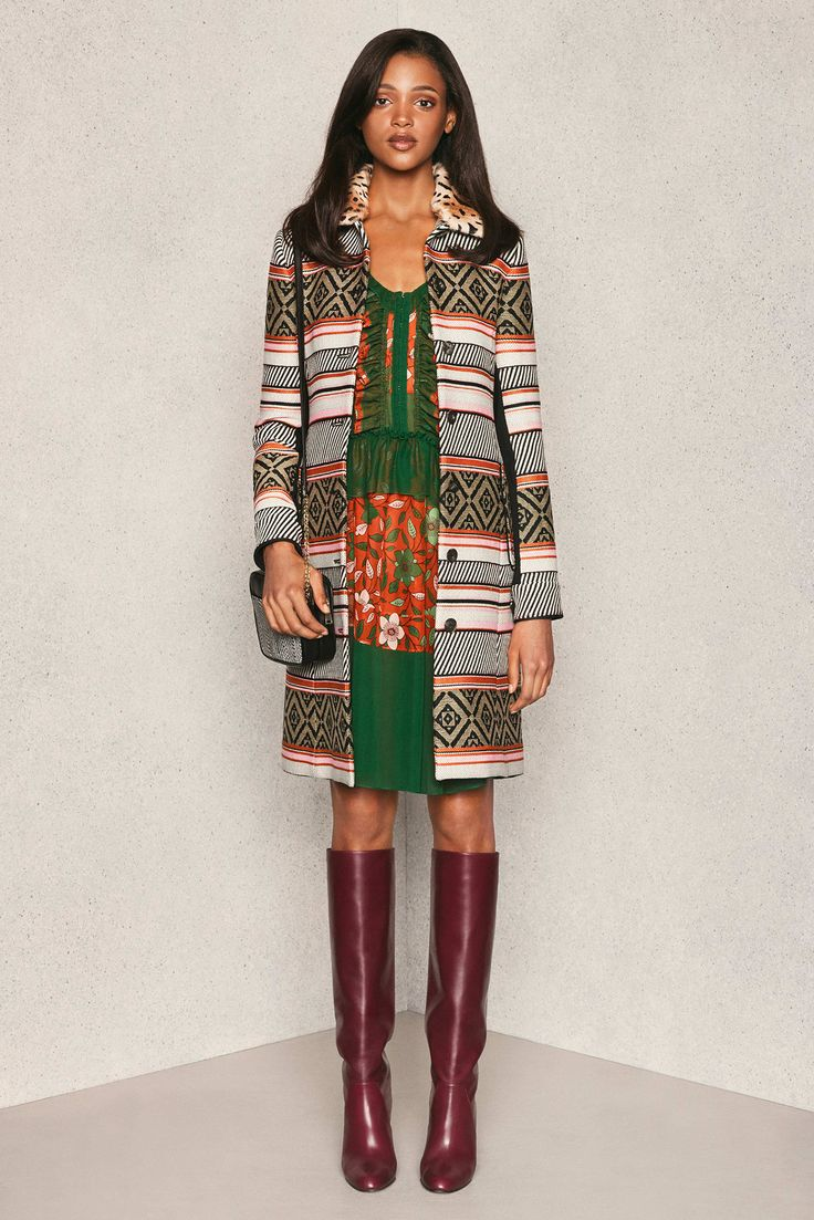 Diane von Furstenberg Pre-Fall 2015 Fashion Show - Manuela Frey
