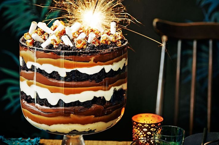 This is no ordinary trifle, this is a work of art! Scoop into layers of rich mousse, chunky brownie, creamy mascarpone and dulce de leche.