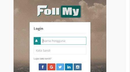 Namanya adalah Follmy. Sebuah jejaring sosial media pertemanan yang kaya fitur. Bahkan bisa disandingkan dengan fitur sosial media populer yang ada dalam