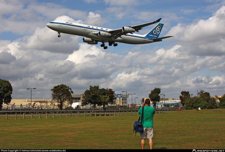 SX-DFA Olympic Airways Airbus A340-313