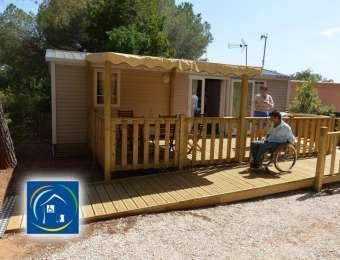 Camping Var Hyères La Londe Les Maures location mobile-home Côte d'Azur
