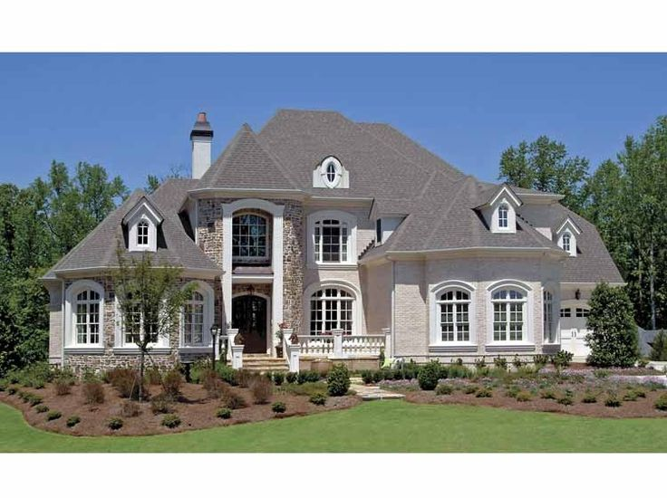 european house plan with 4944 square feet and 5 bedroomss from dream home - European House Plans