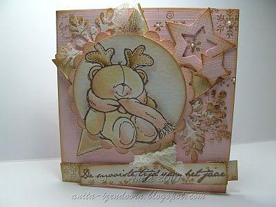 Anita 's Warme Groetjes: Forever Kerst beren...