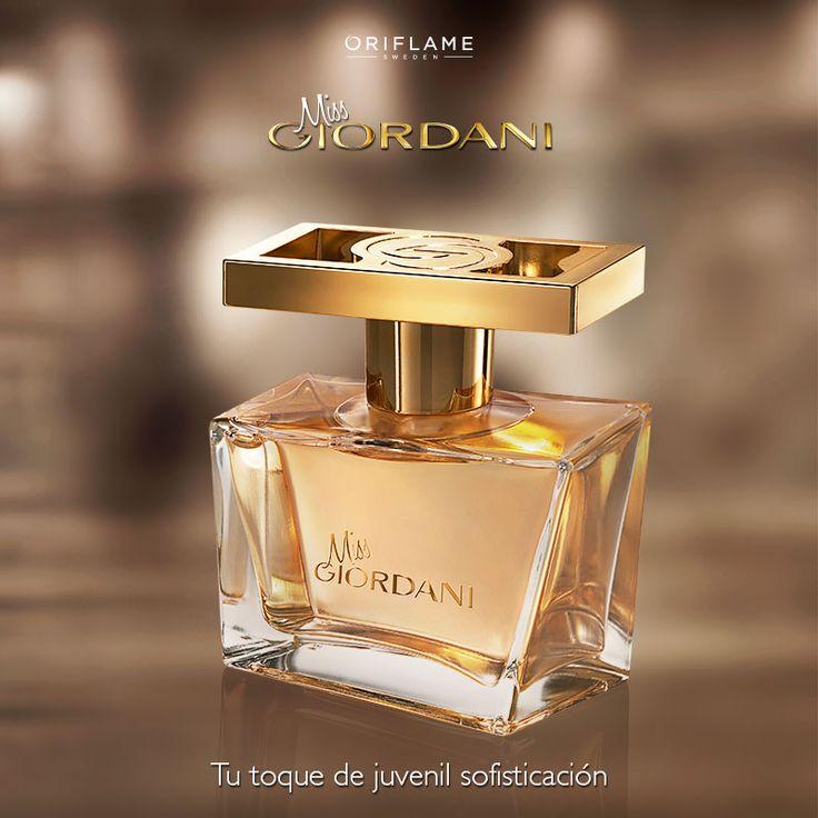 ¿La palabra sofisticada te define, te encanta lo clásico y los aromas orientales y dulces? ¡Entonces eres Miss Giordani! Prueba nuestra nueva fragancia a base de mango, nerolí y pimienta roja. #Fragancia #Woman #Mujer #MissGiordani #OriflameMx