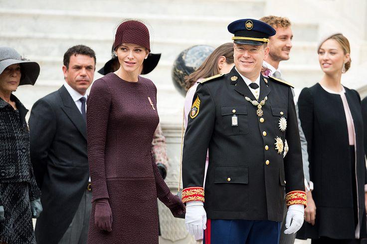 Gabriella y Jacques, protagonistas del Día Nacional de Mónaco