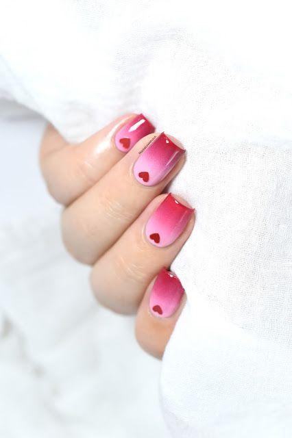 Un nail art de Saint-Valentin facile avec Peggy Sage ! [VIDEO TUTORIAL] - Gradient nails - Valentine's Day nail art - Pink - Dégradé