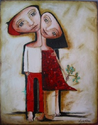 """Boyfriend""  Facebook...Lyndy Wilson Art"