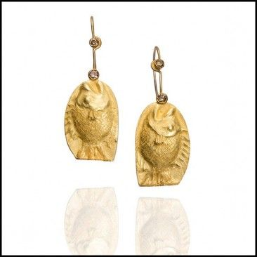 Linda Kindler Priest - Fish Earrings