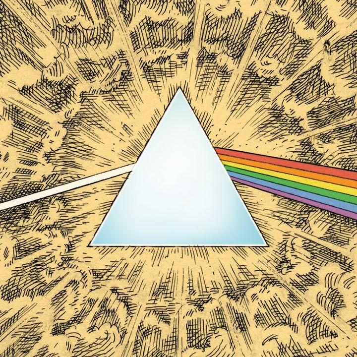 40 best pink floyd - dark side - 40 images on Pinterest | La luna ...