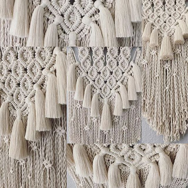 Oh my 3 Strand Heaven!!! 😍💕 WOW! Thank you @thehangingknot for sharing Gypsy! @thehangingknot 's Instagram is an endless source of beauty... ✨🌿 #macrame #fiberart #wallart #wallhanging #artistsoninstagram #homedecor #rockmountainco