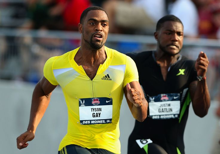 Tyson Gay Olympics | Tyson Gay vs. Justin Gatlin; Lausanne Diamond League preview ...
