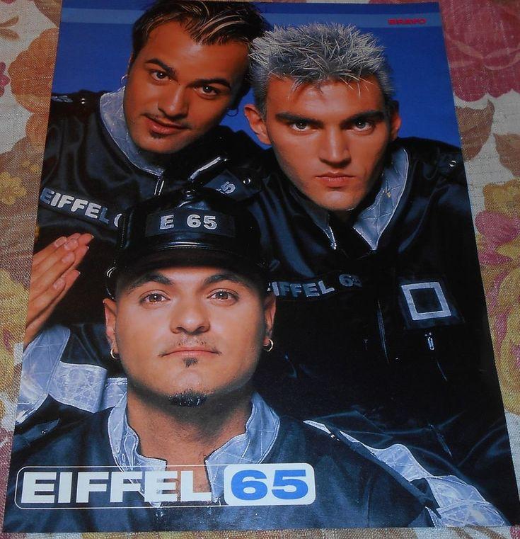 EIFFEL 65 - Magazine Mini - Poster (A4) + Article Lot