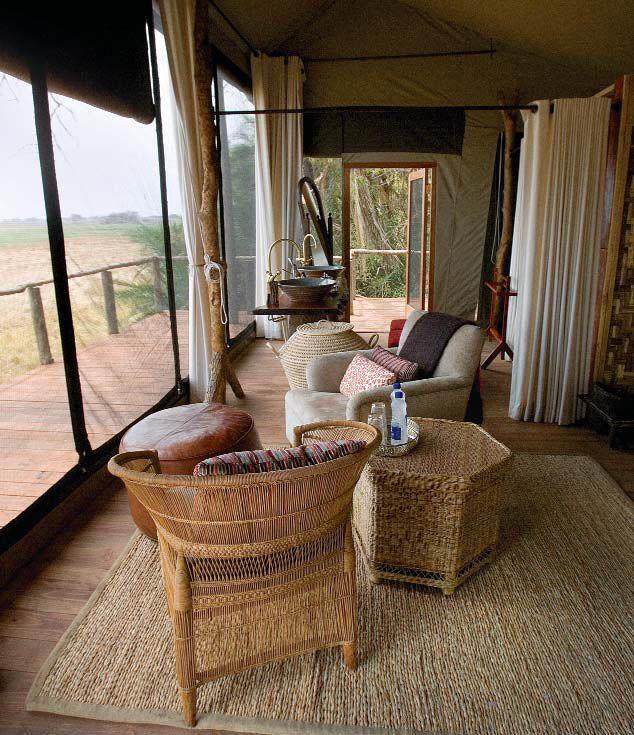 Лоджи в парке Нижняя Замбези – максимальный комфорт с полным погружением в дикую природу.