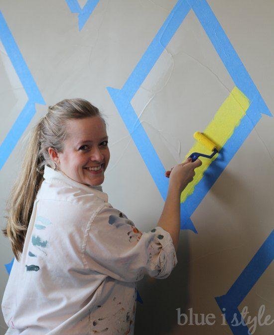 Badkamer Muur Ideeen : Muur op badkamer tekenen en muurschilderingen