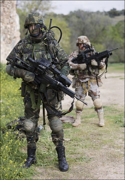 COMFUT, future infantry combat system, Spanish Army (Ejército de Tierra), Spain.