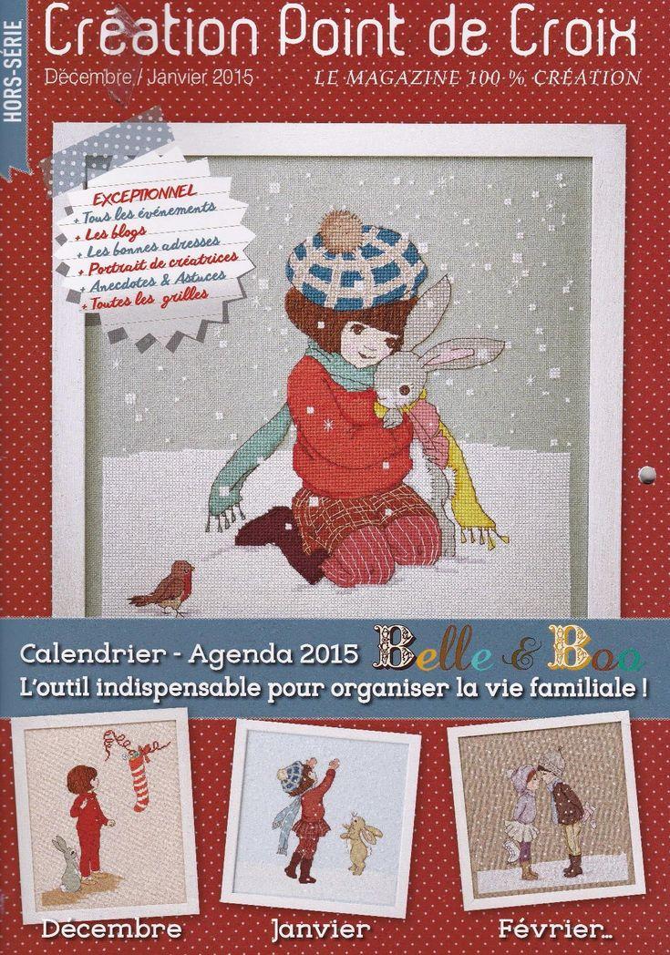 CREACIÓN POINT DE CROIX: HORS-SERIE CALENDRIER 2015