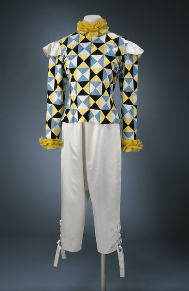 ca 1951 Givenchy for Schiaparelli fancy-dress costume.