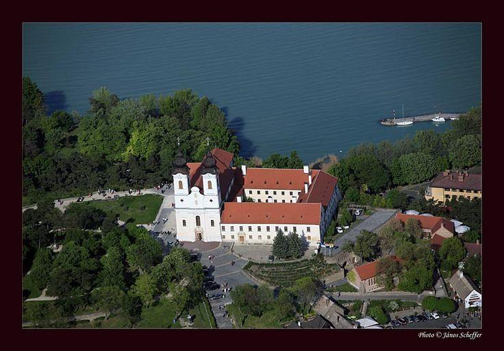 Tihany abbey (Tihany, Hungary)