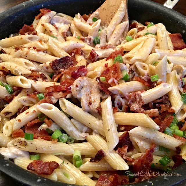 Barbecue Pork And Penne Skillet Recipe: Pork, Sausage & Bacon Dinner Images On