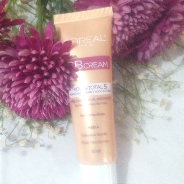 Beauty Lover: BB CREAM HIDRA TOTAL 5 DE LOREAL, RESEÑA