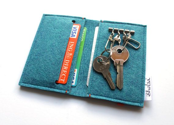 card organizer keyring wallet key holder wallet match ot bholsa