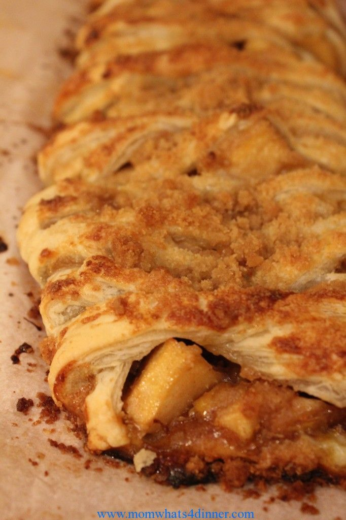Apple Strudel Fall Dessert #Recipe enjoy with a cup of coffee on a ...