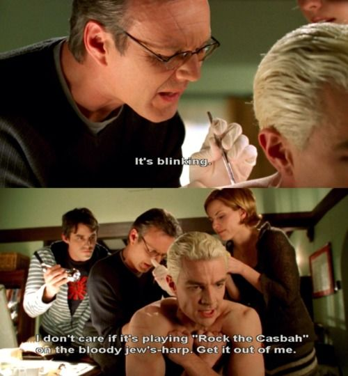 Buffy ~ Spike chip