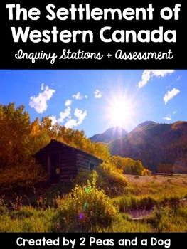 Teacher created Settlement of Western Canada Inquiry Stations. Students develop questions to research about 8 different topics from Western Canada's development. ($)