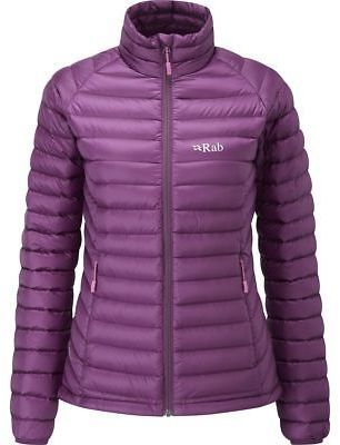 Rab Microlight Down Jacket -Women's Berry/Tayberry XL