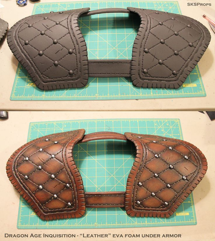 Dragon Age Inquisition Cosplay Leather Armor by SKSProps.deviantart.com on @DeviantArt