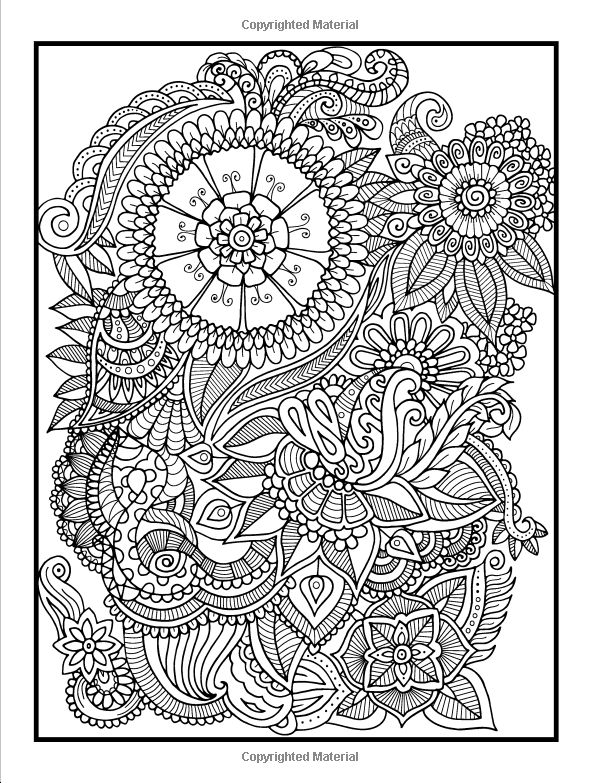 adult coloring books beautiful flowers floral patterns secret garden designs and. Black Bedroom Furniture Sets. Home Design Ideas