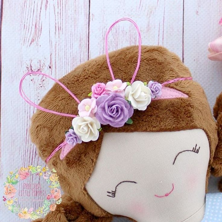 Easter Floral Crown by Precious Little Poppets  www.preciouslittlepoppets.com.au