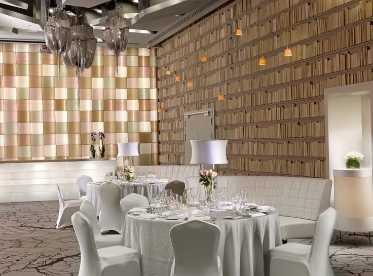 Hosting a #party or social gathering? Make it a memorable one at the Atlantis #banquet room, decorated with rare materials and creative lighting!  rbathenspark.com
