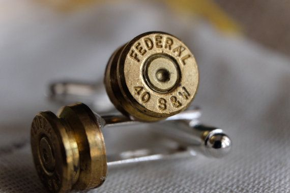 Hey, I found this really awesome Etsy listing at https://www.etsy.com/listing/203864958/bullet-cuff-links-40-cal-sw-glock-auto