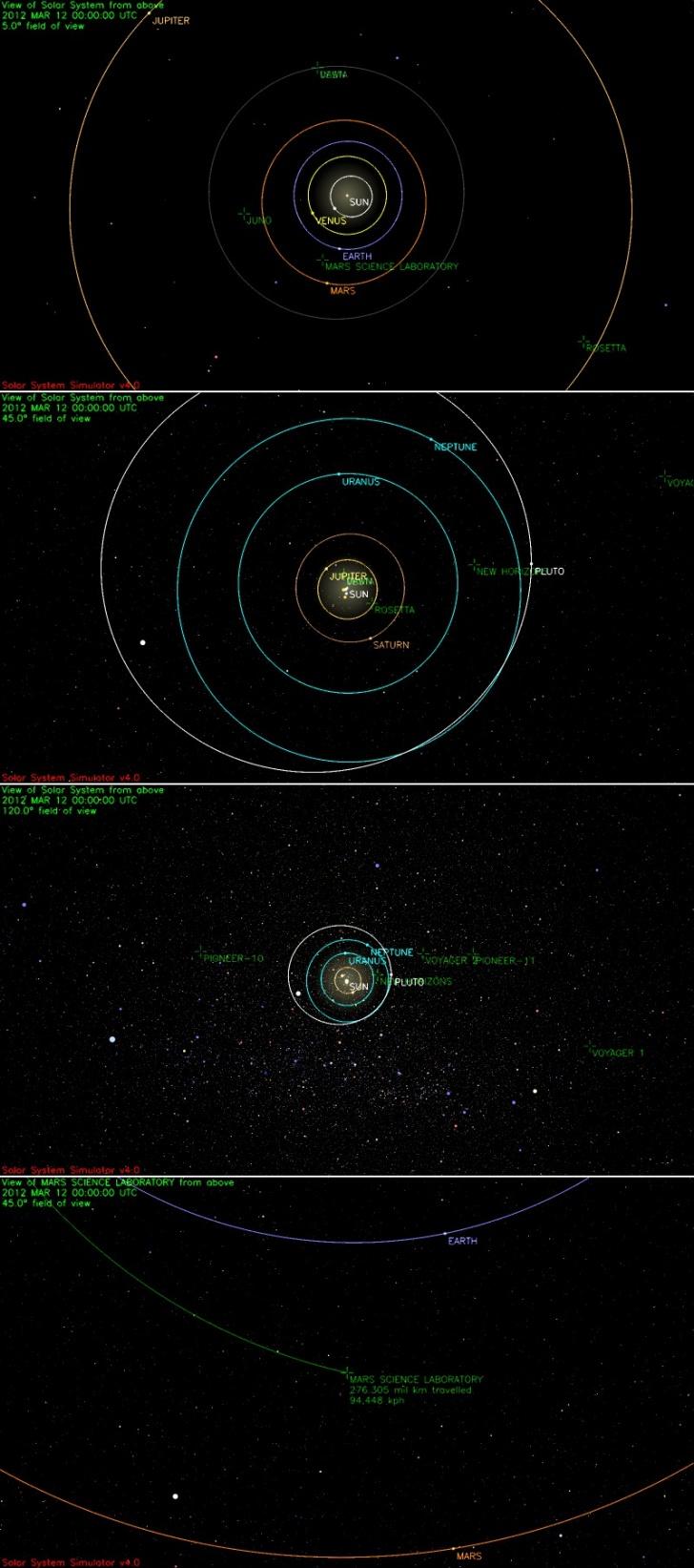 클리앙 > 모두의공원 > 현재 태양계 행성, 탐사선 위치~