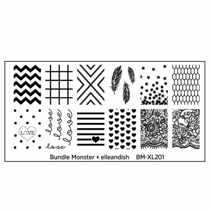 42 best Nail Stamping Plates images on Pinterest   Nail polish, Gel ...
