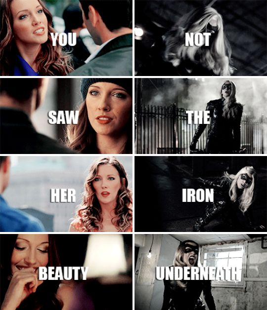 Dinah Laurel Lance, always trying to save the world.  #dc
