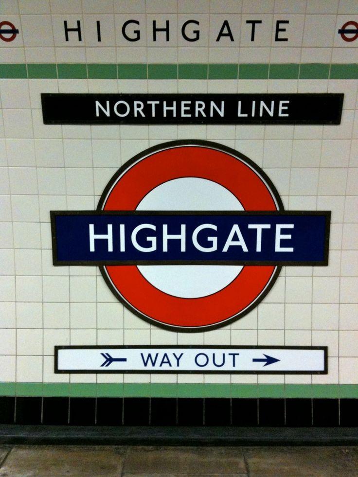 London Underground, Highgate Station