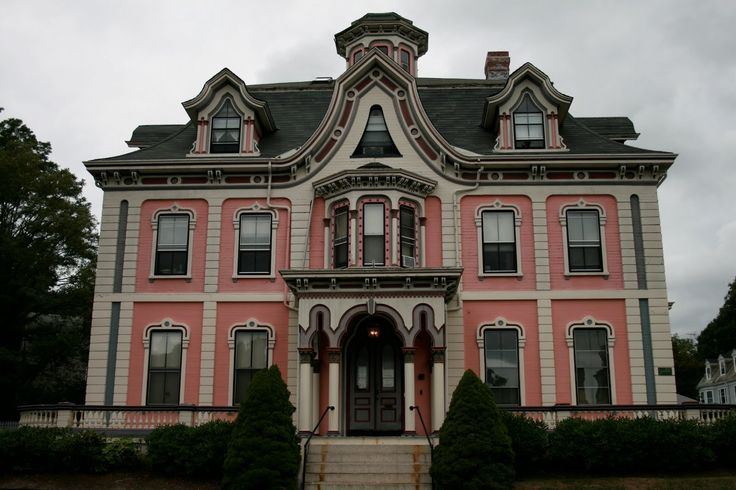 Victorian home in new bedford ma beautiful painted for New victorian style homes