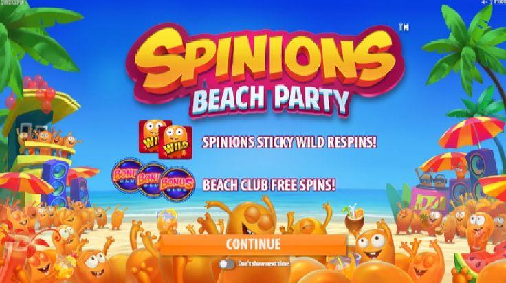 Plážová párty se spoustou výher začíná! http://www.hraci-automaty.com/novinky/vyherni-automaty-spinions-beach-party #beachparty #vyhra #vyherniautomatyzdarma #onlineautomaty