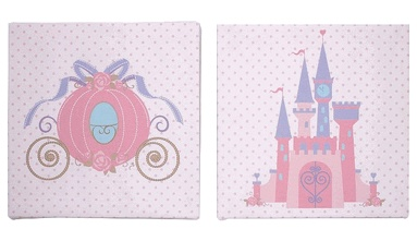 Disney Princess Dreams 2-Piece Canvas Wall Art on eBay!  for Gabby's room  Pinterest  Canvas Wall Art, Canvas Walls and Disney Princess