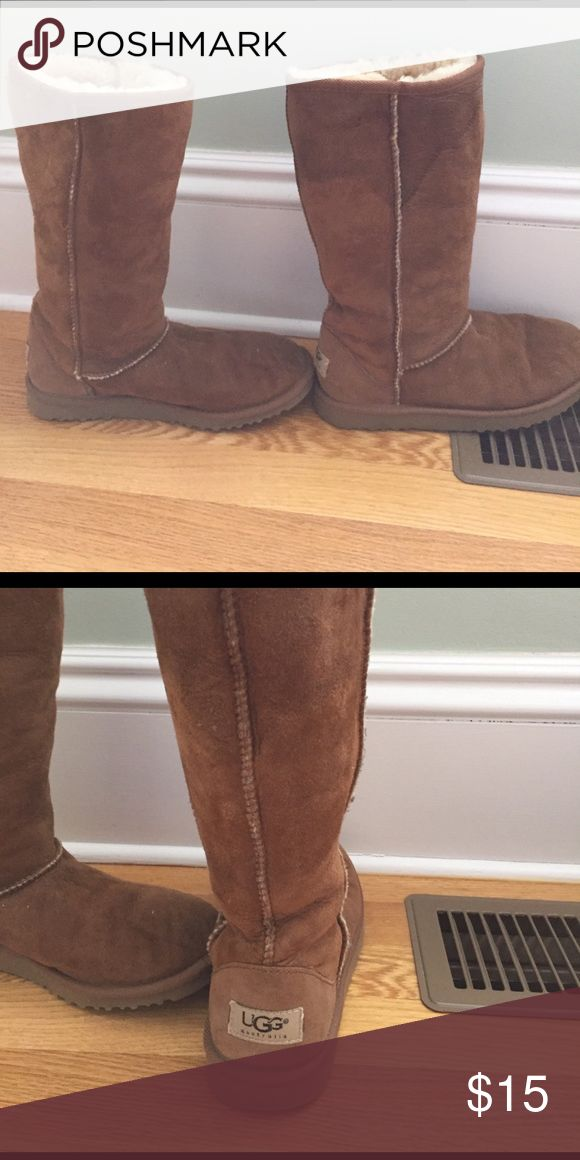 Original UGG boots Pre-owned UGG boots.  Signs of wear and tear. UGG Shoes Winter & Rain Boots