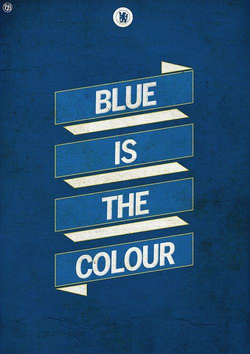 Blue Is the Colour #true blue