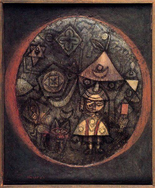 Paul Klee >> Dwarf Fairy Tale