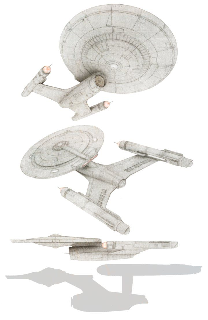 U.S.S. Discovery redesign concept by hanzhefu on DeviantArt