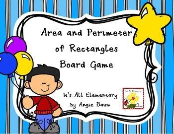 This activity allows students to practice finding area and perimeter of rectangles in a fun and engaging way in a low pressure/risk situation. After students have learned about area and perimeter, I use this game as a math station or an activity in my math intervention groups.