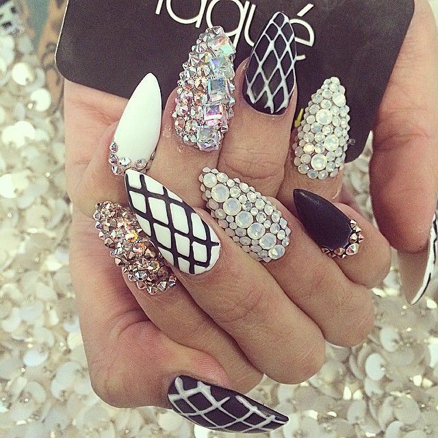 Instagram Post by laquenailbar (@laquenailbar) - 22 Best Junk Nails Images  On Pinterest - Junk Nail Designs Graham Reid