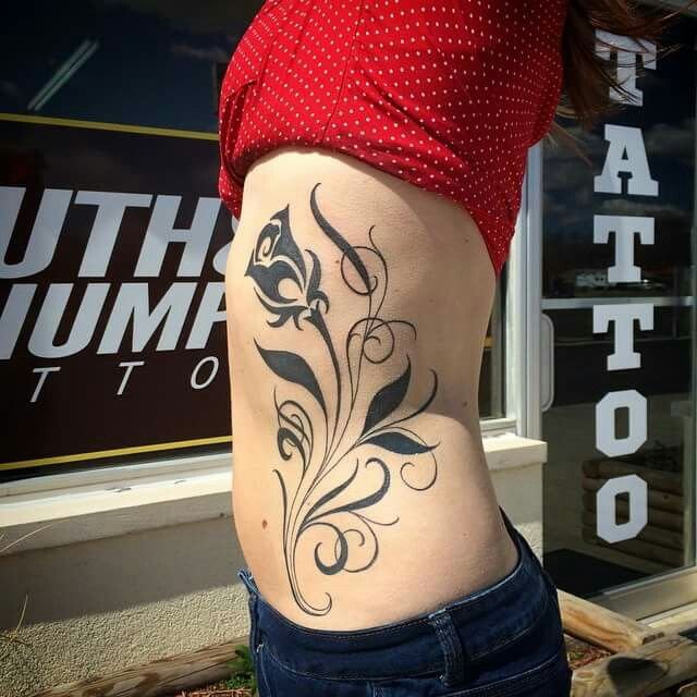 17 best ideas about side stomach tattoos on pinterest for Tattoos on side of stomach